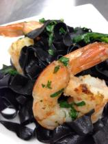 squid ink pasta